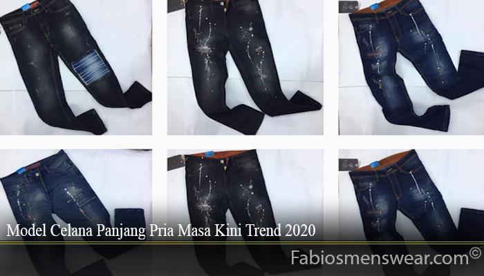 Model Celana Panjang Pria Masa Kini Trend 2020
