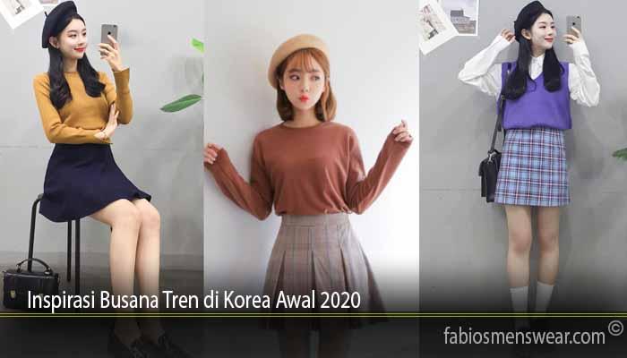 Inspirasi Busana Tren di Korea Awal 2020